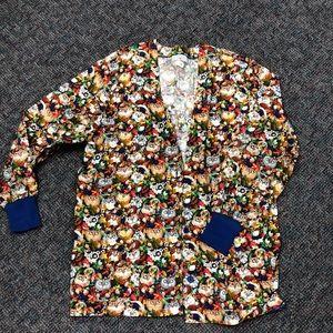 Jackets & Blazers - Long sleeve scrub jacket